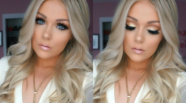 Makeup For Blue Eyes Blonde Hair Prom Makeup Tutorial 2016 Youtube
