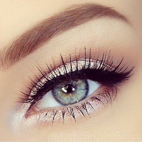 Makeup For Greenish Blue Eyes Blue Eyes Eye Makeup Eyebrows Eyes Green Eyes Grunge Hazel