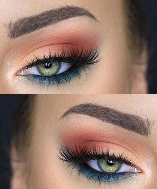 Makeup For Greenish Blue Eyes Eye Makeup For Green Eyes