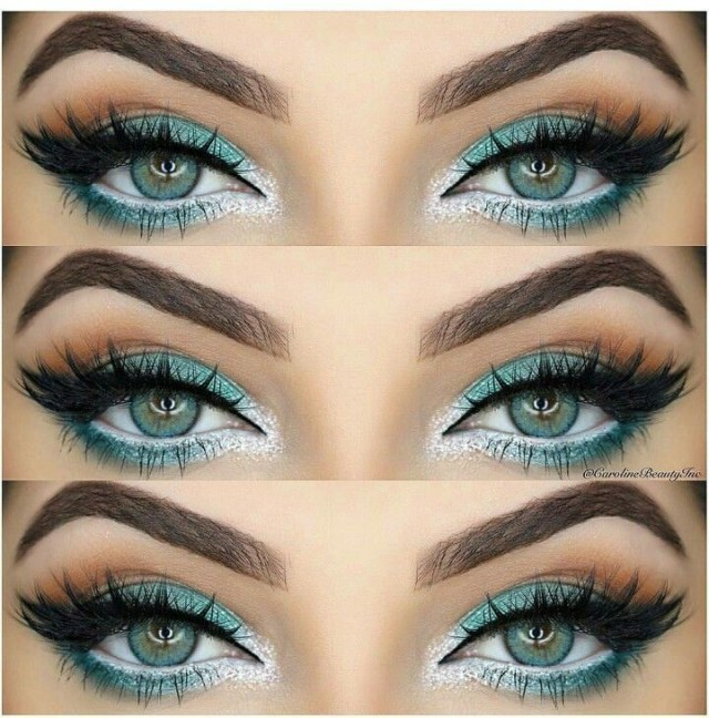 Makeup For Greenish Blue Eyes How To Rock Makeup For Green Eyes Makeup Ideas Tutorials Pretty