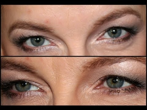 Makeup For Greenish Blue Eyes Makeup For Hooded And Bluegreen Eyes Youtube