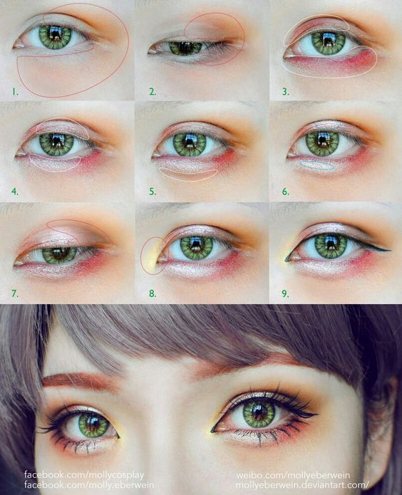 Makeup For Small Asian Eyes 10 Favorite Japanese Korean Eye Makeup Tutorials From Pinterest
