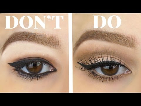 Makeup For Small Hooded Eyes Hooded Eyes Dos And Donts Eyeshadow Eyeliner For Bigger Eyes