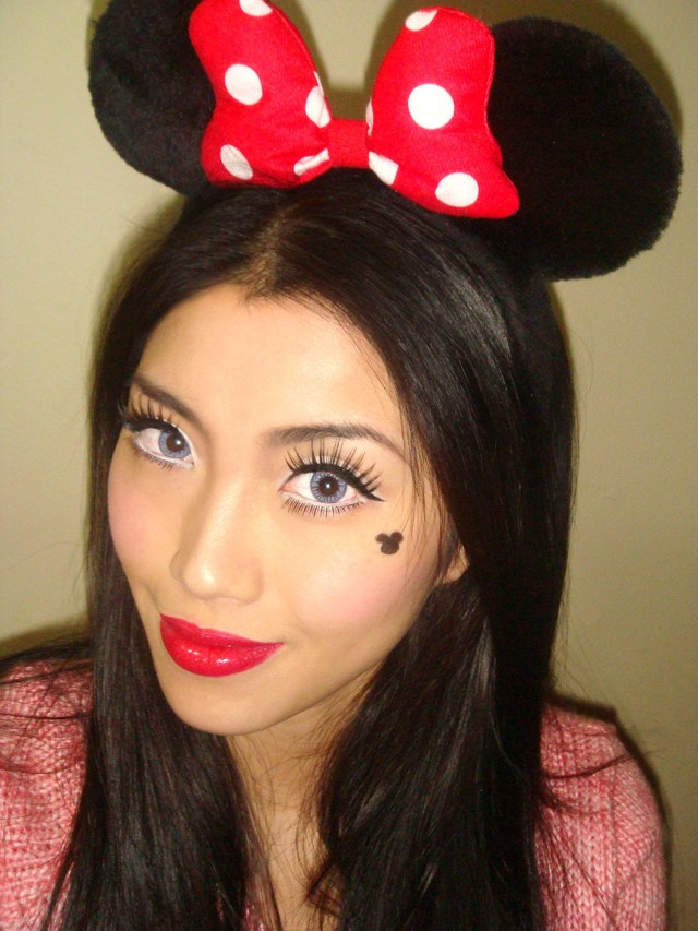 Minnie Mouse Eye Makeup Fotd Minnie Mouse Makeup Look For Halloween Makeup For Life
