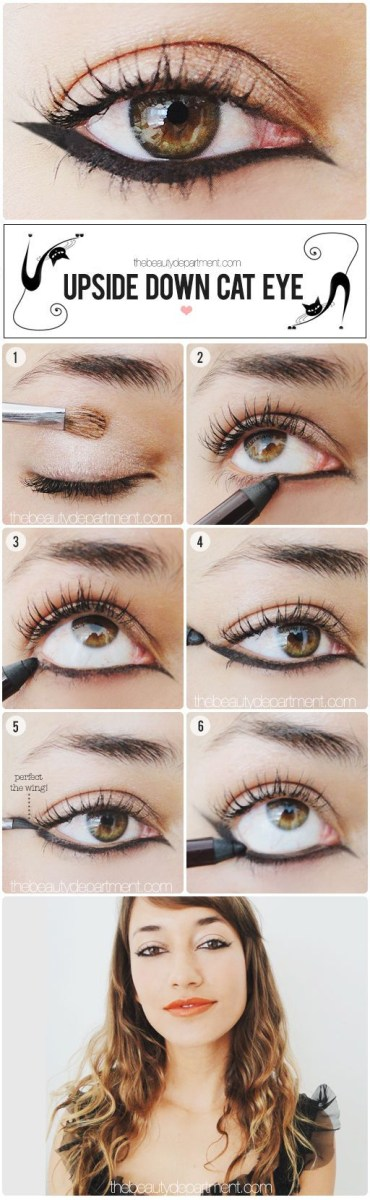 Modern Cat Eye Makeup Cat Eye Makeup How To Do Cat Eyes Step Step In Minutes