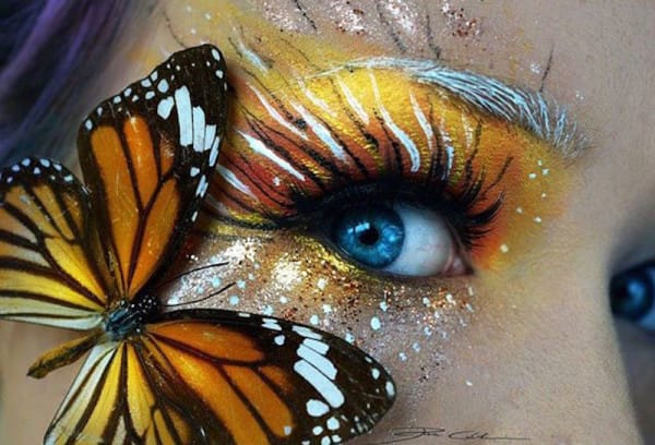 Monarch Butterfly Eye Makeup 14 Magical Makeup Designs That Will Transport You To Another World