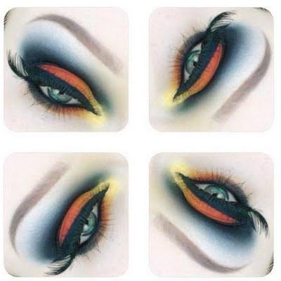 Monarch Butterfly Eye Makeup Monarch Butterfly Eyeshadow Hannah S Preen
