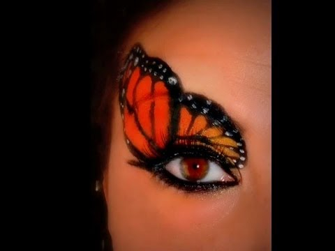 Monarch Butterfly Eye Makeup Monarch Butterfly Make Up The Tutorial Youtube