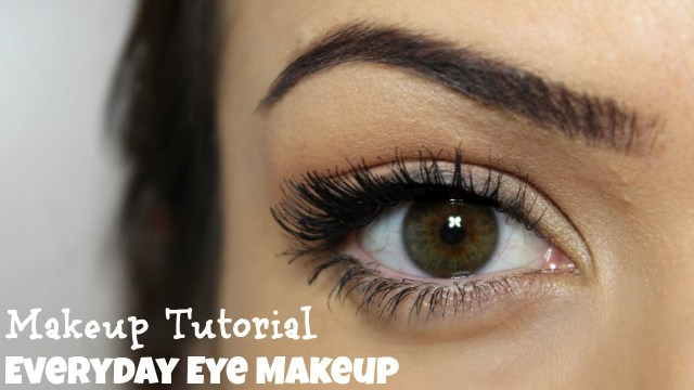 Natural Eye Makeup For Brown Eyes Everyday Eye Makeup 5 Steps Makeup Tutorial Youtube