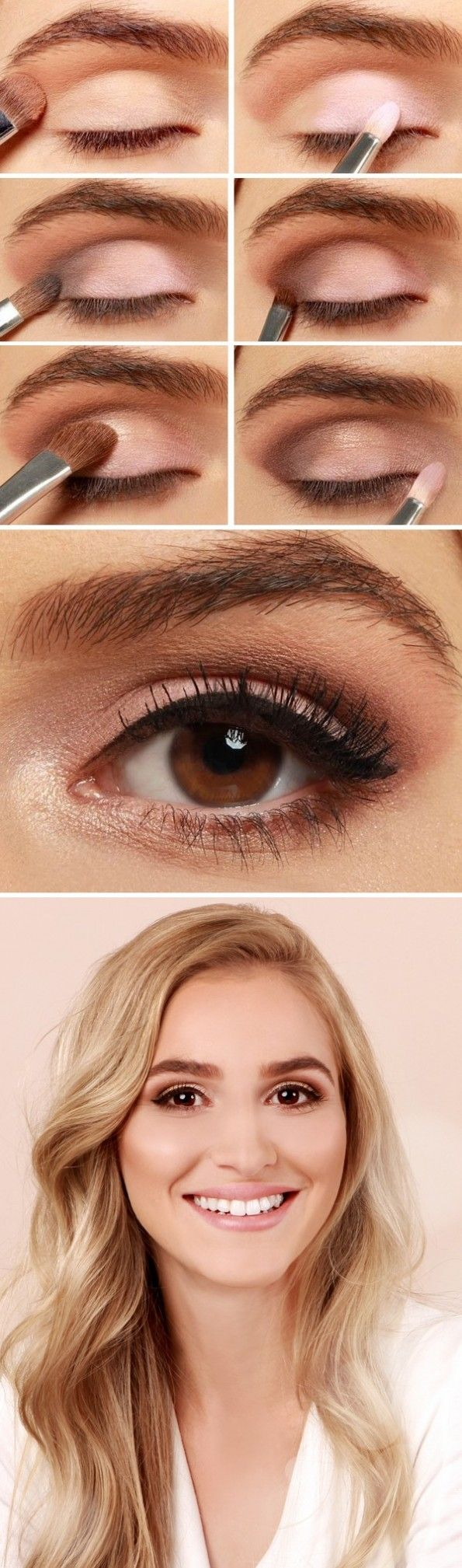 Natural Looking Eye Makeup 27 Pretty Makeup Tutorials For Brown Eyes Styles Weekly