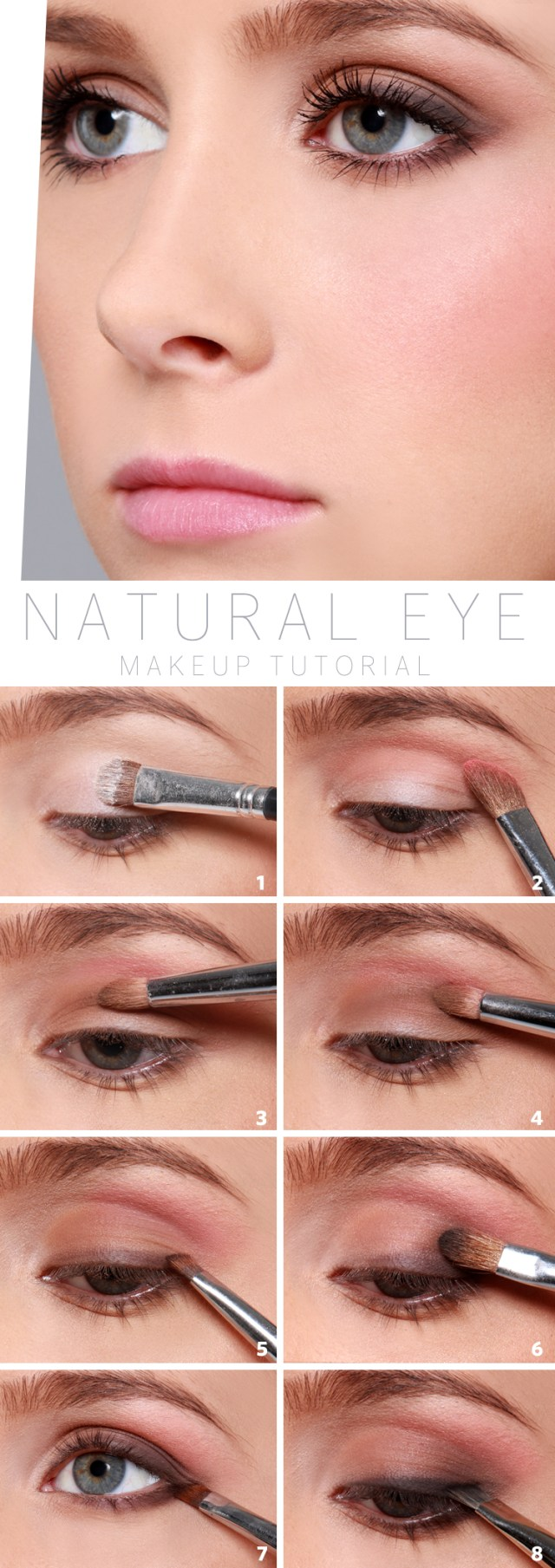 Natural Looking Eye Makeup Lulus How To Natural Eye Makeup Tutorial Lulus Fashion Blog