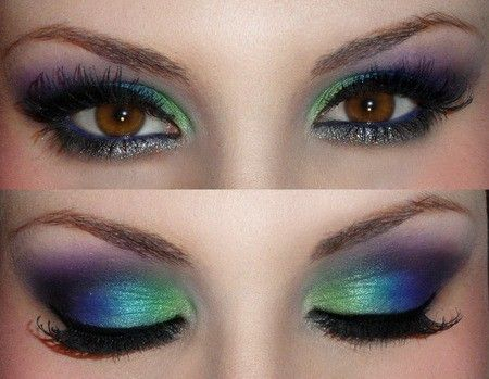 Peacock Inspired Eye Makeup Beautyviralcreek Vcreekbeauty Twitter