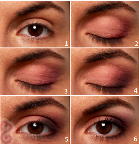 Pink Makeup For Brown Eyes Daytime Brown Eyes Makeup Tutorial