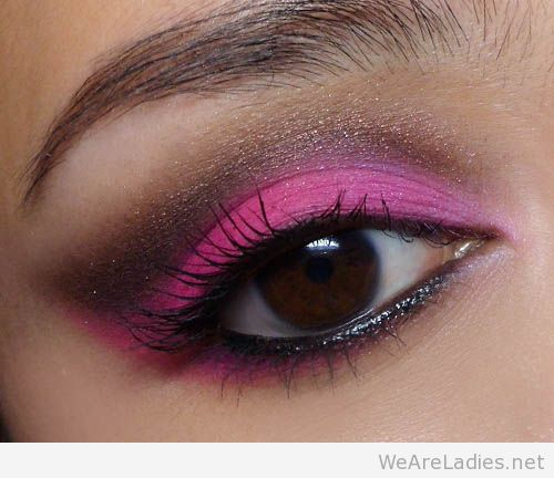 Pink Makeup For Brown Eyes Pink Eye Makeup For Green Brown And Blue Eyes