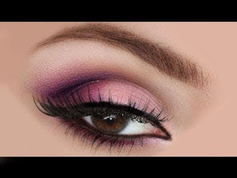 Pink Makeup For Brown Eyes Pink Eyeshadow Tutorial For Brown Eyes Pink Eye Makeup For Brown