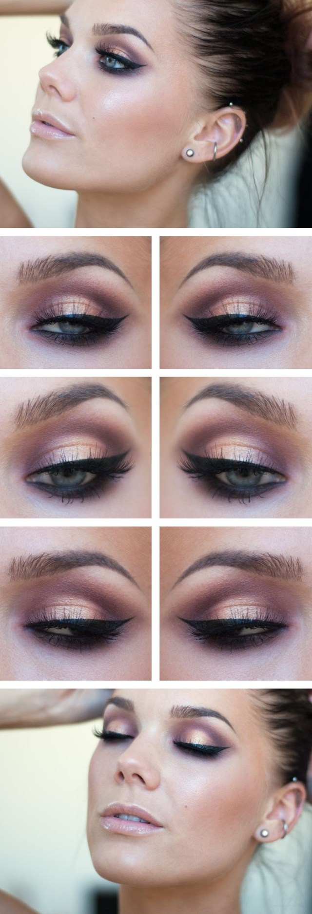 Pretty Light Eye Makeup Simple Yet Stylish Light Makeup Ideas To Try For Daily Occasions