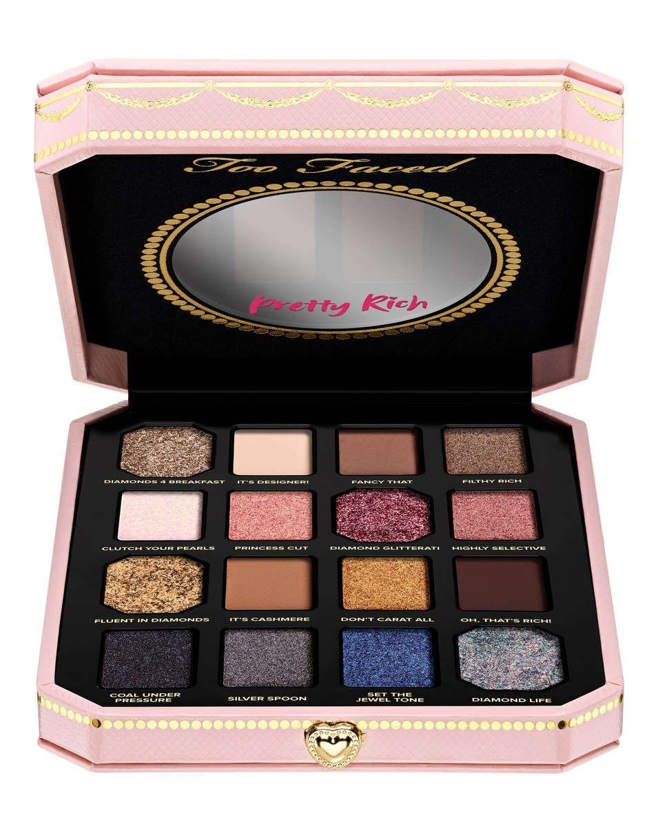 Pretty Light Eye Makeup Too Faced Pretty Rich Diamond Light Eye Shadow Palette Cult Beauty