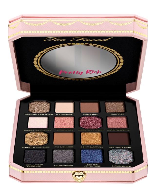 Pretty Light Eye Makeup Too Faced Pretty Rich Diamond Light Eye Shadow Palette Cult Beauty