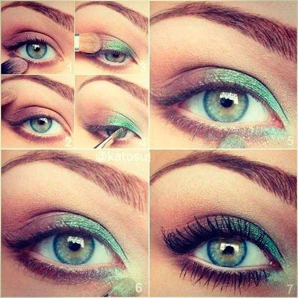 Prom Makeup Green Eyes Makeup For Green Eyes Prom Makeup Features A Young Girl