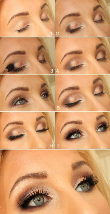 Romantic Eye Makeup 10 Gold Smoky Eye Tutorials For Fall Pretty Designs