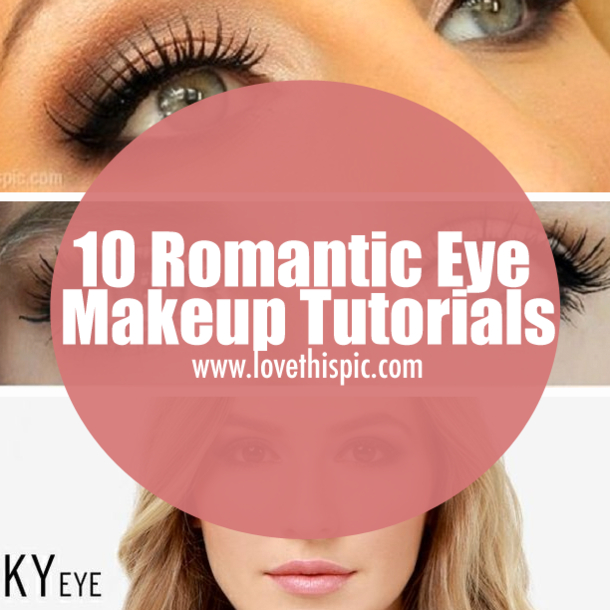 Romantic Eye Makeup 10 Romantic Eye Makeup Tutorials