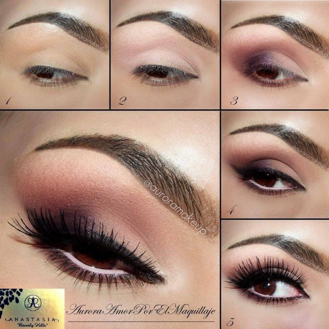 Romantic Eye Makeup 26 Easy Step Step Makeup Tutorials For Beginners Pretty Designs