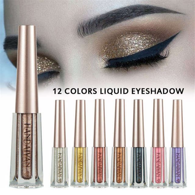 Shiny Eye Makeup Eye Makeup Eye Shadow Shiny Diamond Color Liquid Eyeshadow Shimmer