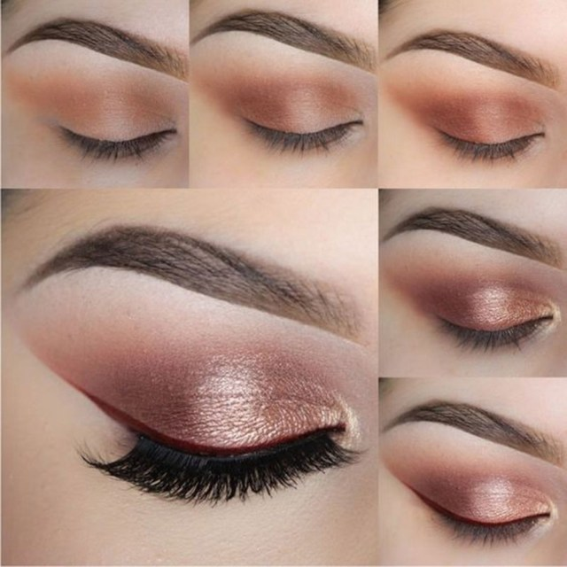 Shiny Eye Makeup Highlight Glitter Cream Eye Shadow Pen Stick Eyeshadow Pencil Crayon