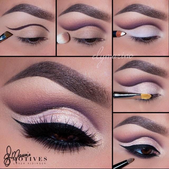 Simple Pink Eye Makeup 26 Easy Step Step Makeup Tutorials For Beginners Pretty Designs