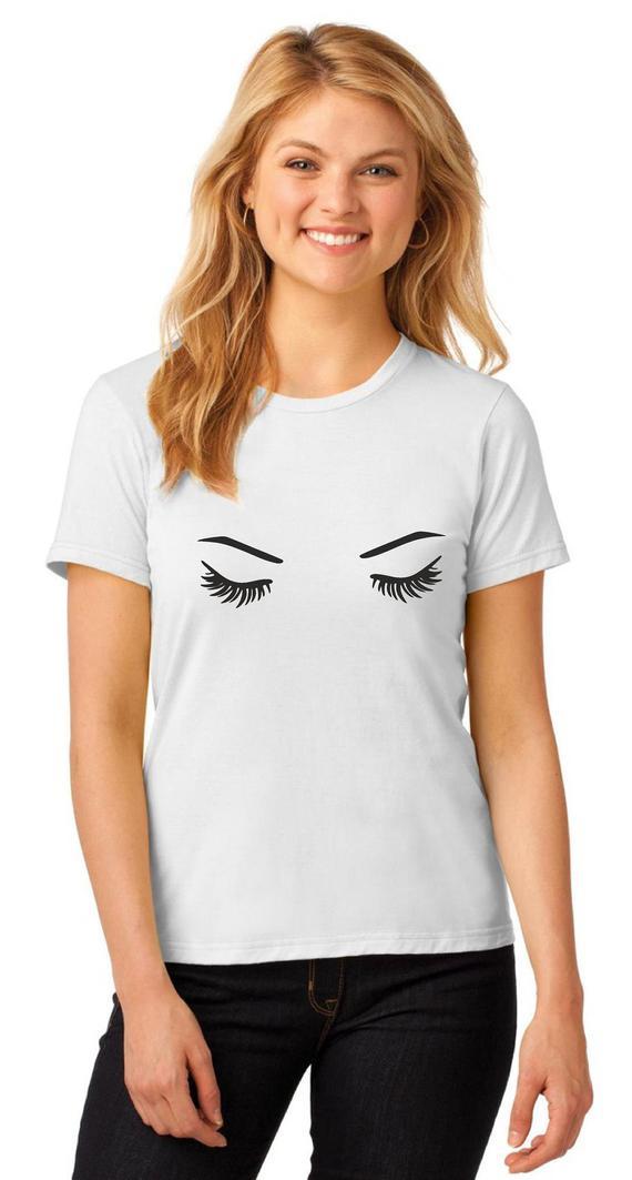Sleepy Eyes Makeup Eye Lashes Sleepy Eyes Makeup Fashion Bloggers Inspired Etsy