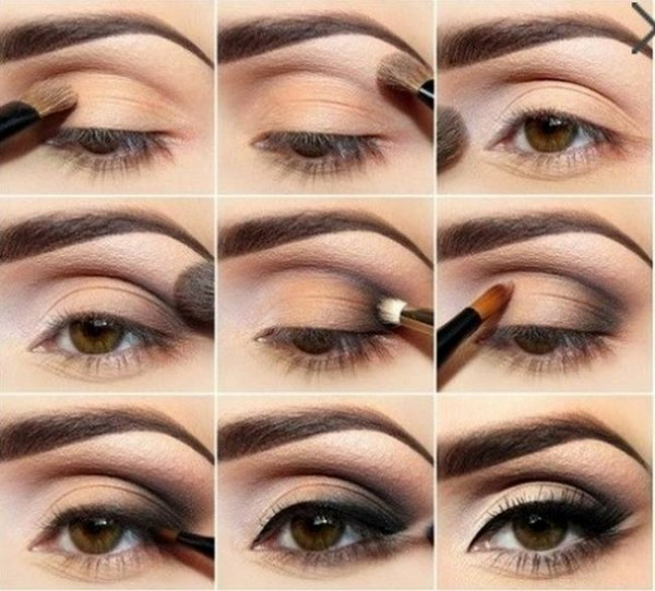 Smokey Eye Makeup Brown Smokey Eye Makeup Tutorial For Blue And Brown Shades The Style Tribune