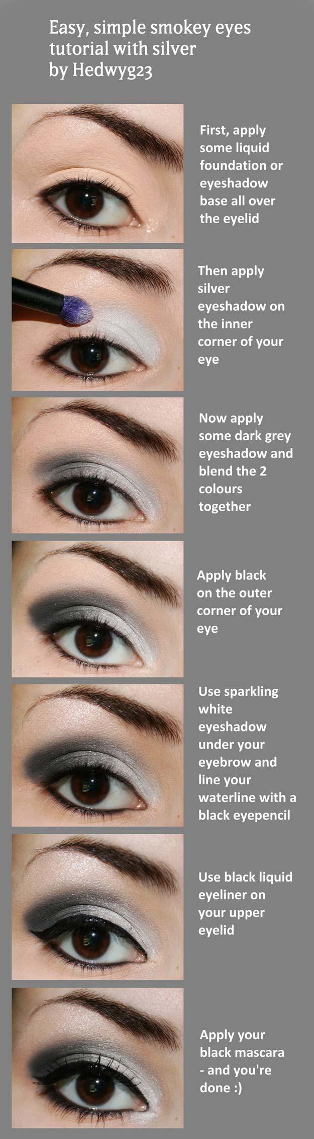 Smokey Eye Makeup Pictures 34 Sexy Eye Makeup Tutorials The Goddess