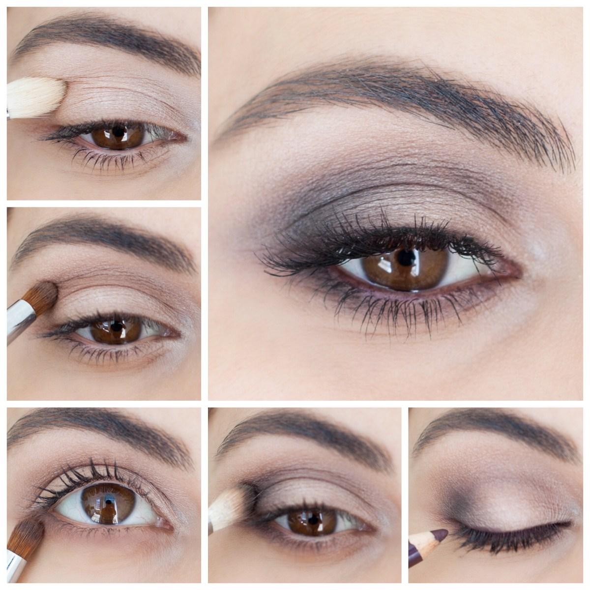 Smokey Eye Makeup Pictures How To Brown Smokey Eye Simply Sona