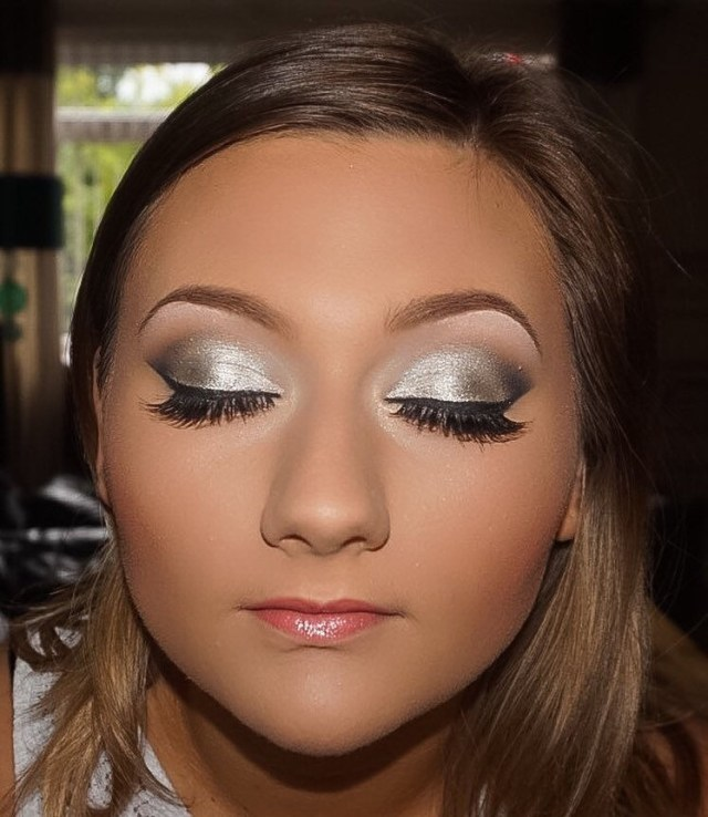 Smokey Eye Prom Makeup My Beauty Megans Prom Makeup From A Couple Of Weeks Back Flickr