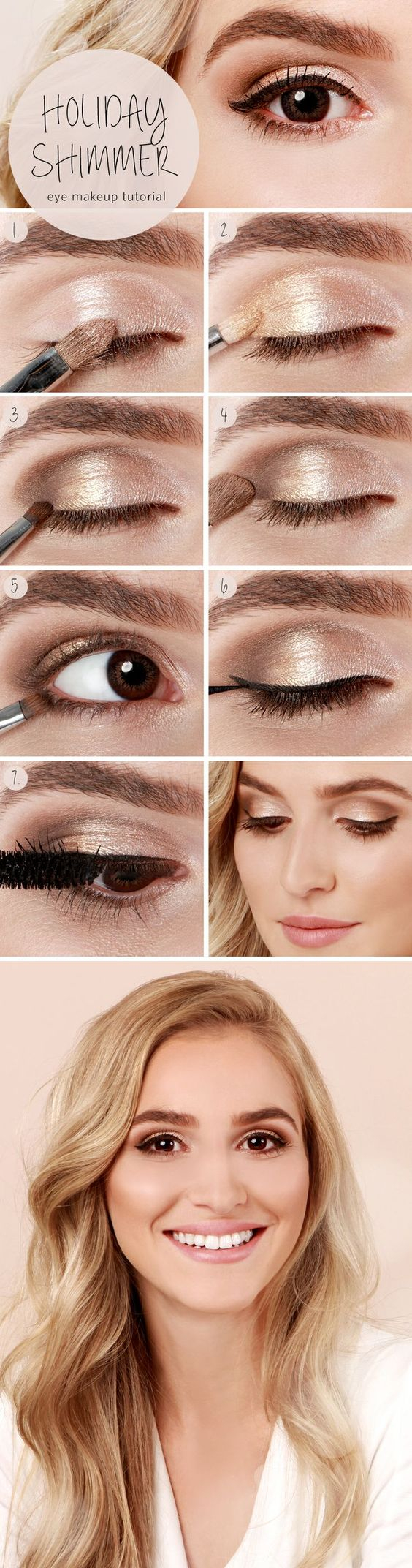 Summer Eye Makeup 5 Tips On How To Apply A Perfect Shimmer Summer Eye Look Pretty