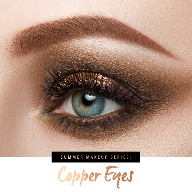 Summer Eye Makeup Summer Makeup Looks Copper Eyeshadow Real Techniques