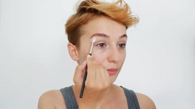 Turkish Eye Makeup Beautiful Makeup Woman Eye Makeup Stock Footage Video 100