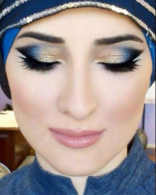 Turkish Eye Makeup Simple Makeup With Hijab Tutorial And Hijab Makeup Tips