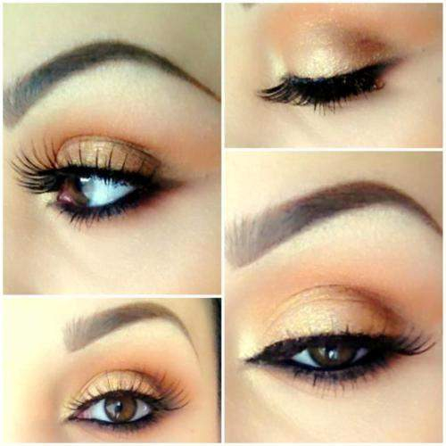 Very Natural Eye Makeup Golden Natural Eye Makeup Not So Girly Girl