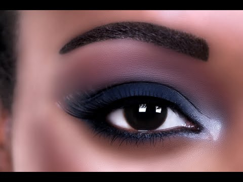 Very Natural Eye Makeup How To Apply Eye Makeup For Black Women Full Face Makeup For