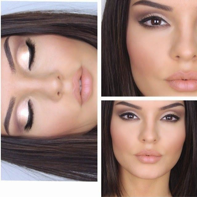 Very Natural Eye Makeup Natural Makeup For Brown Eyes Facehairstylist