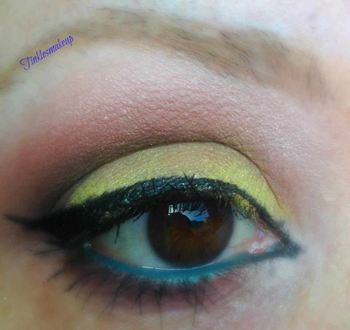 Yellow And Black Eye Makeup Black And Yellow Eyeshadow Ecosia