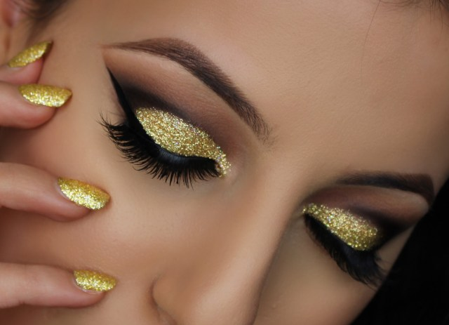 Yellow And Black Eye Makeup Eye Makeup Ideas 06 Indian Makeup And Beauty Blog Beauty Tips