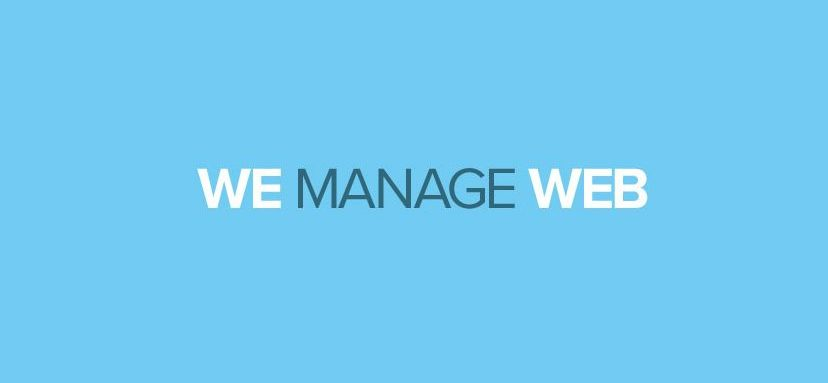 We Manage Web