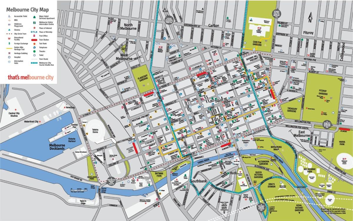 melbourne-cbd-map