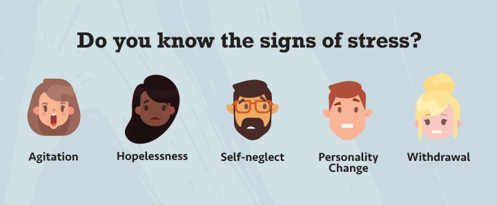 Know the signs of stress. Are you restless?