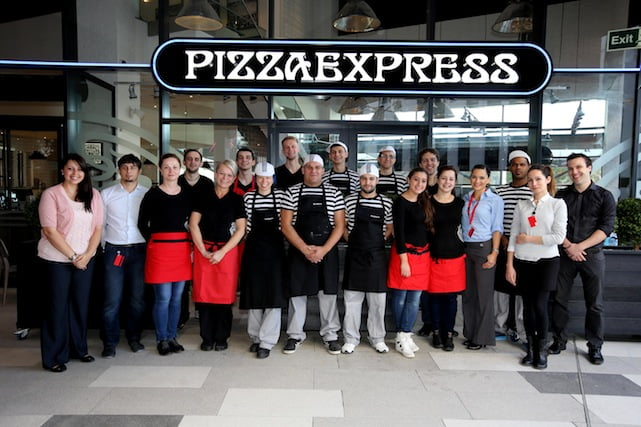 Pizza Express returns to Wembley