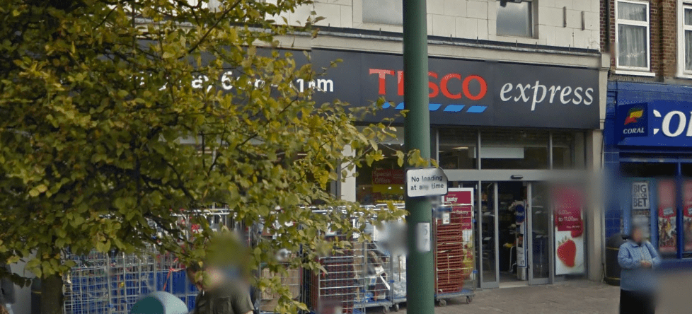 Worker Refuses To Serve Customer At Neasden Tesco
