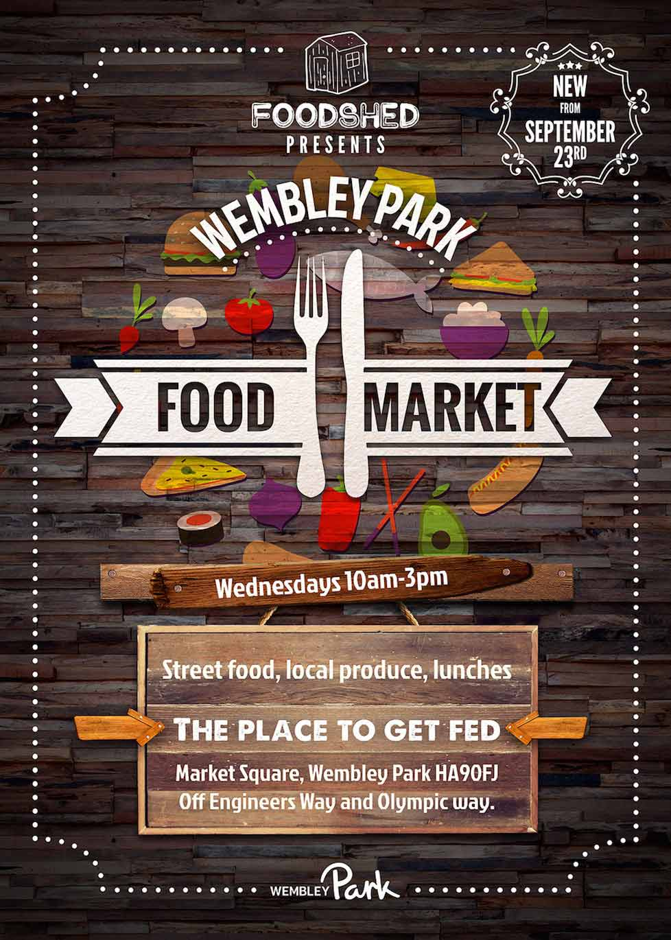 Wembley Food Market Every Wednesday
