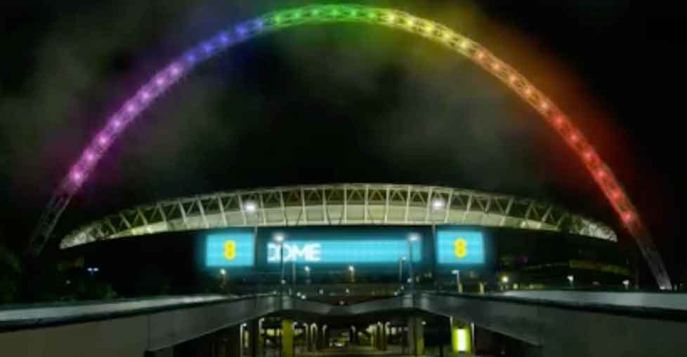 New app by EE lets kids hack Wembley Stadium arch